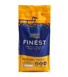 Fish4Dogs White Fish Adult Large Kibble Dog Food