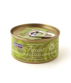 Fish4Cats Tuna Fillet with Mussels Wet Food
