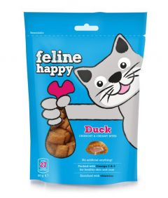 Feline Happy Cat Treats Duck