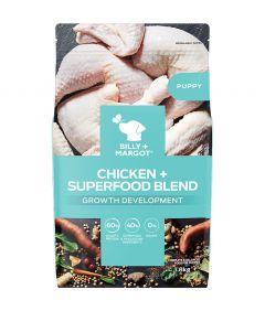 Billy & Margot Puppy Chicken + Superfood Blend Dry
