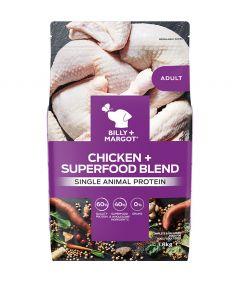 Billy & Margot Adult Chicken + Superfood Blend Dry