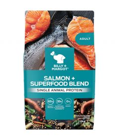 Billy & Margot Adult Salmon + Superfood Blend Dry