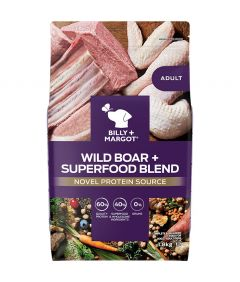 Billy & Margot Adult Boar + Superfood Blend Dry