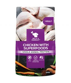 Billy & Margot Adult Chicken with Superfoods Pouch