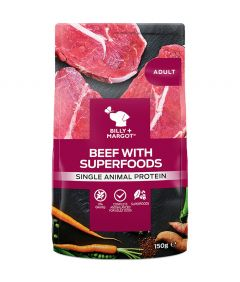 Billy & Margot Adult Beef with Superfoods Pouch