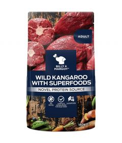 Billy & Margot Adult Kangaroo with Superfoods Pouch