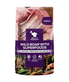 Billy & Margot Adult Boar with Superfoods Pouch