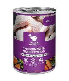 Billy & Margot Adult Chicken with Superfoods Can