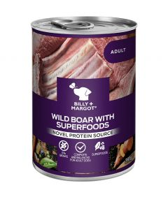 Billy & Margot Adult Boar with Superfoods Can