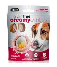 VetIQ Creamy Centres Salmon Dog Treats