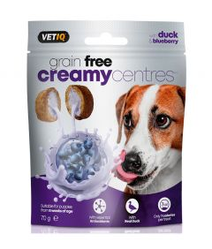 VetIQ Creamy Centres Duck Dog Treats