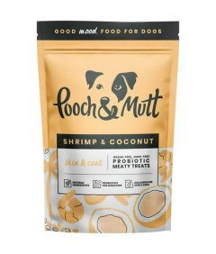 Pooch & Mutt Shrimp & Coconut Skin & Coat Dog Treats