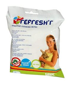 Savic Refresh'r Sensitive Wipes for Small Animals