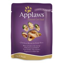 Applaws Cat Chicken with Rice 70g Pouch