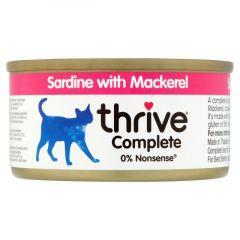 Thrive Complete Cat Sardine w/ Mackerel in Gravy
