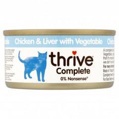 Thrive Complete Cat Chicken & Liver w/ Veg Wet