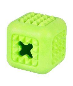Flamingo Dina Cube Mint Scent Foam Dog Toy