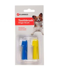 Flamingo Toothbrush Finger