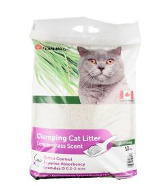 Flamingo Cat Litter Lemongrass Scent