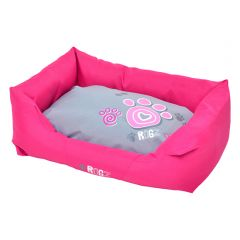 Rogz Spice Pod Bed Pink Paw