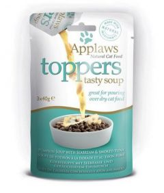 Applaws Cat Toppers Pumpkin Soup with Tuna