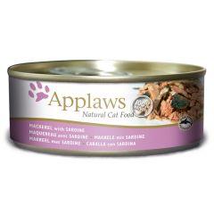 Applaws Cat Mackerel with Sardine 156g Tin