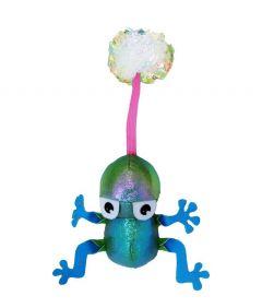 Kong Flingaroo Frog Cat Toy