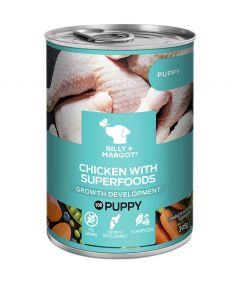 Billy & Margot Puppy Chicken with Superfoods Can