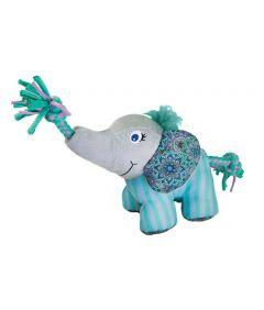 Kong Carnival Knots Elephant Dog Toy