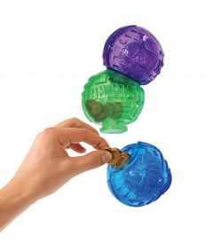 Kong Lock-It 3pk Treat Puzzle Dog Toy