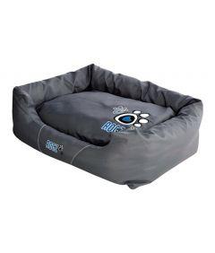 Rogz Spice Pod Turquoise Paw Dog Bed