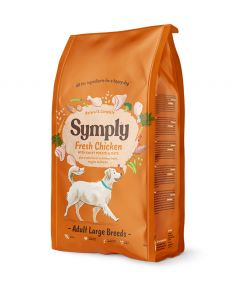 Symply Adult Large Breed Chicken Dry Dog Food