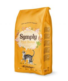 Symply Cat Dry Food with Chicken - All Life Stages