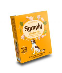 Symply Adult Chicken,Brown Rice & Veg Wet Dog Food