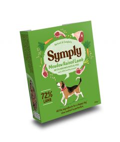 Symply Adult Lamb, Brown Rice & Veg Wet Dog Food