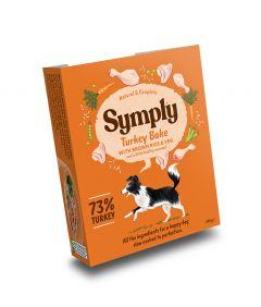 Symply Adult Turkey, Brown Rice & Veg Wet Dog Food